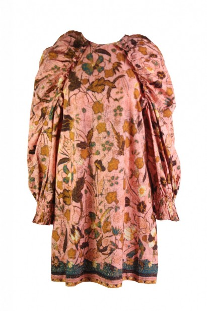Ulla Johnson Devya Dress in Blush Floral