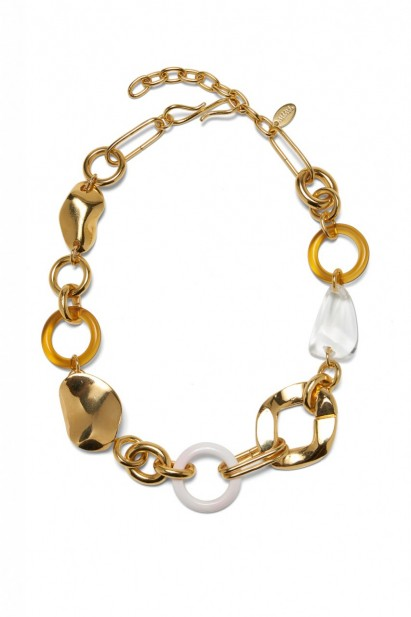 Lizzie Fortunato Abstract Link Collar